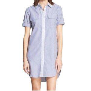 Equipment Femme Short Sleeve Shirtdress